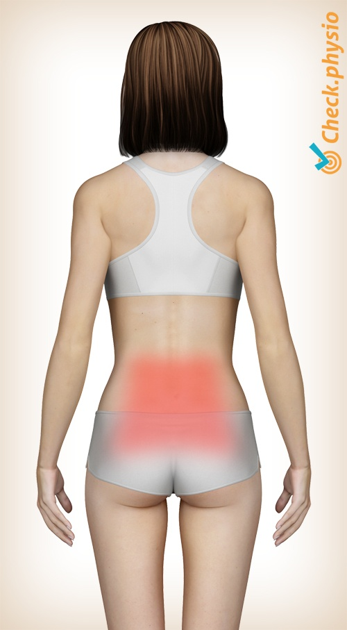 back lumbar lower pain